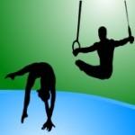 gimnasia deportiva icono